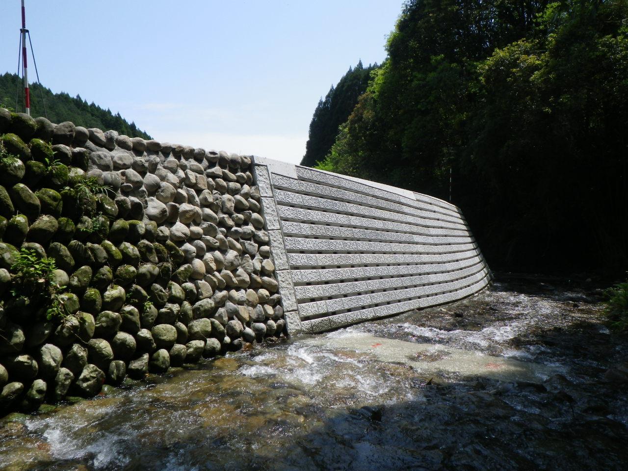 切原川災害復旧工事