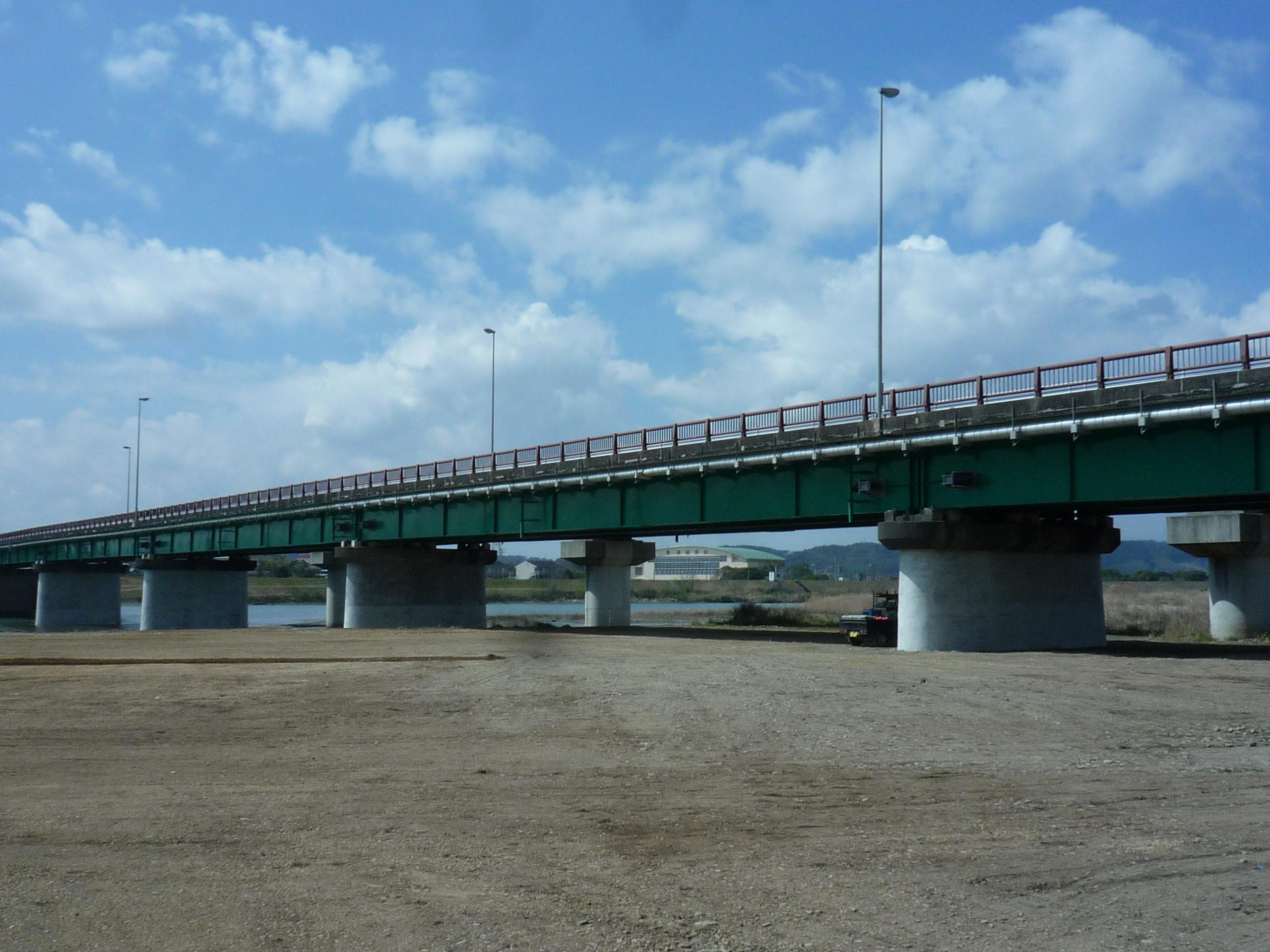 高鍋大橋耐震補強工事