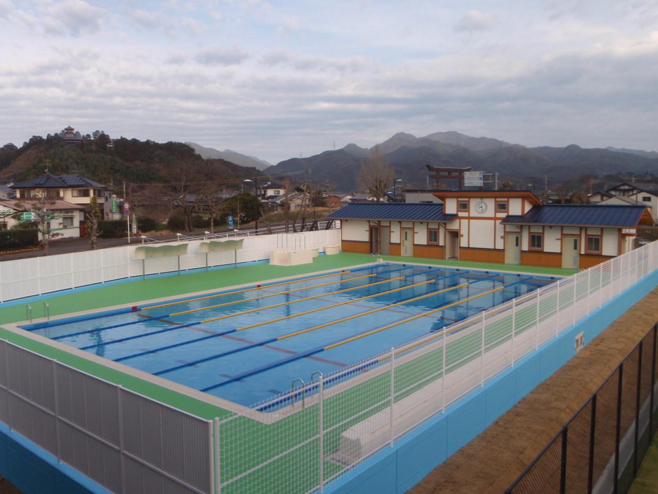 綾中学校 プール