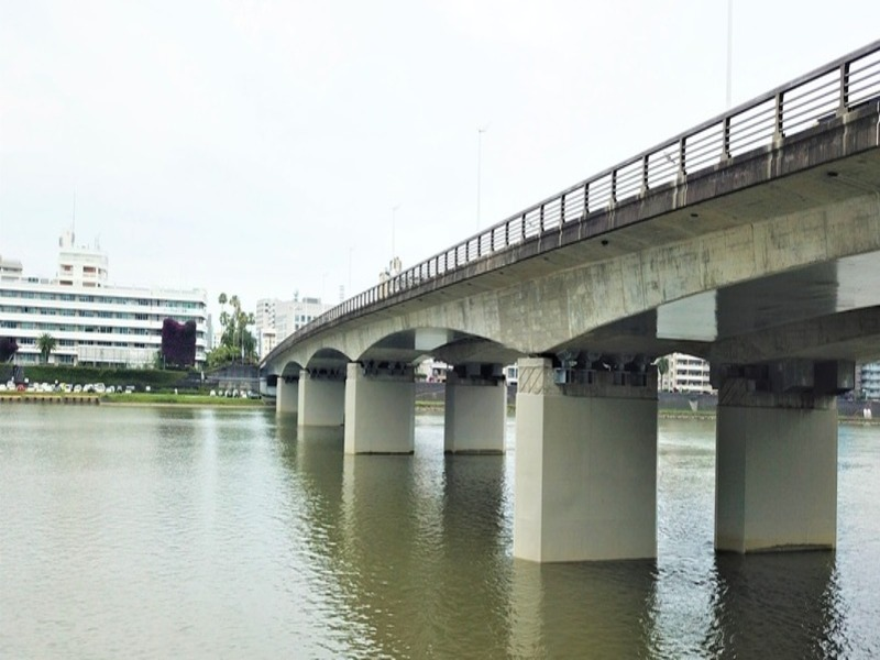 平成30年・31年度(上りP3)耐震補強工事、令和元年・2年度橘橋(上りP4)耐震補強工事